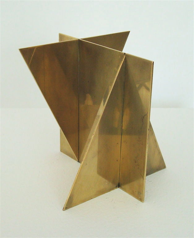 Brass Sculpture signed Wuytack image 3