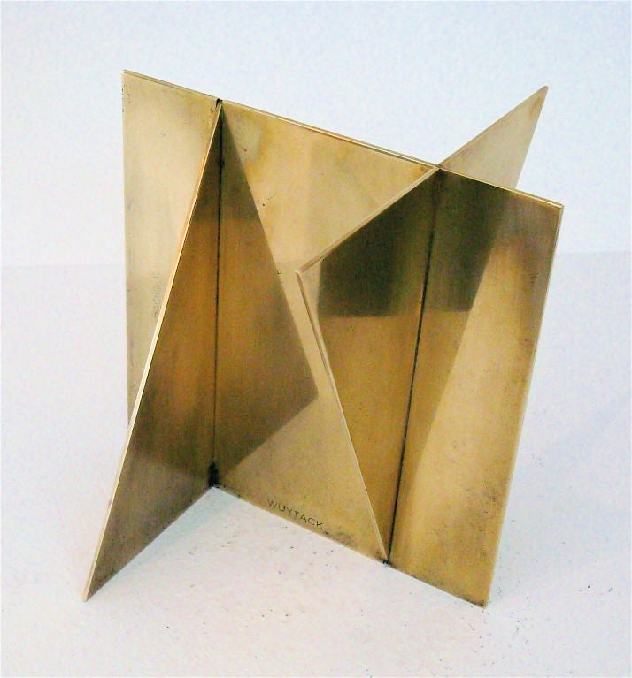 Brass Sculpture signed Wuytack image 5