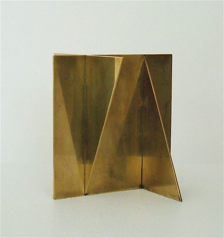 Brass Sculpture signed Wuytack image 8