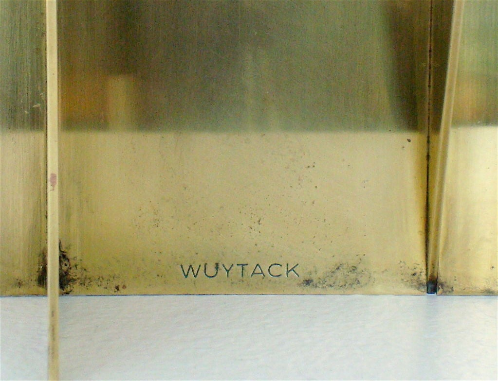 Brass Sculpture signed Wuytack image 10