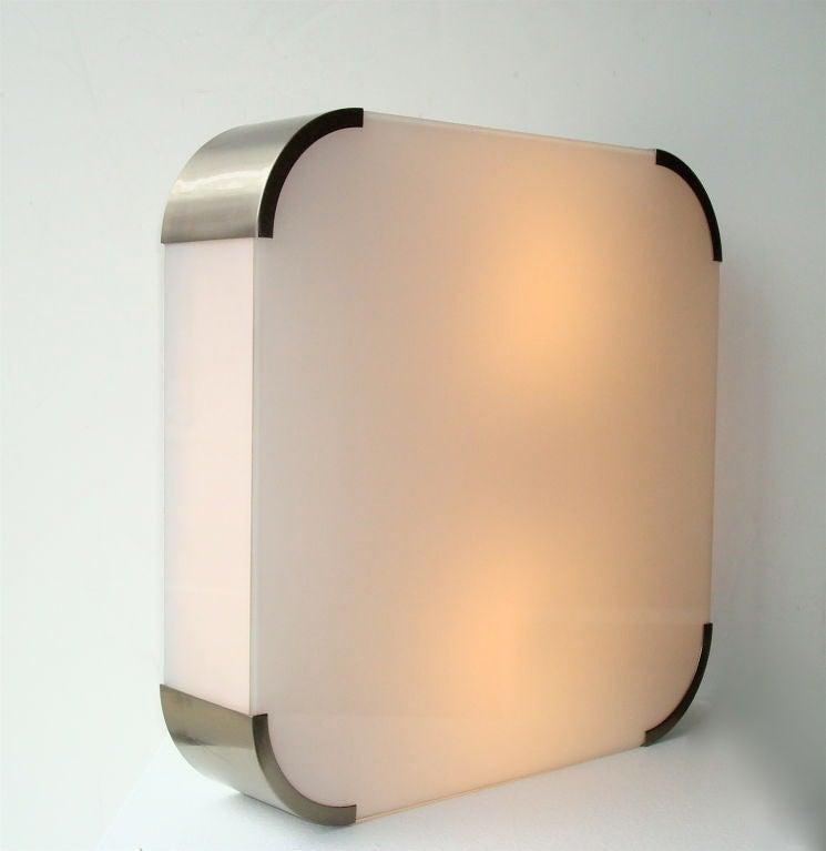 Late 20th Century Light Fixture by Jean Perzel