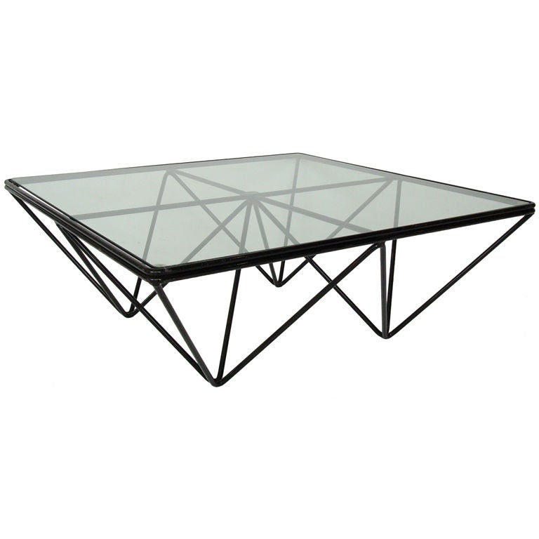 """""""Alanda"""" Low Coffee Table by Paolo Piva For Sale"""