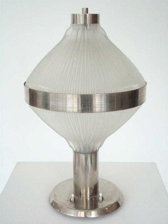 Italian Table Lamp Polinnia by the Architects BBPR for Artemide c 1964 B.B.P.R. In Excellent Condition For Sale In Chicago, IL