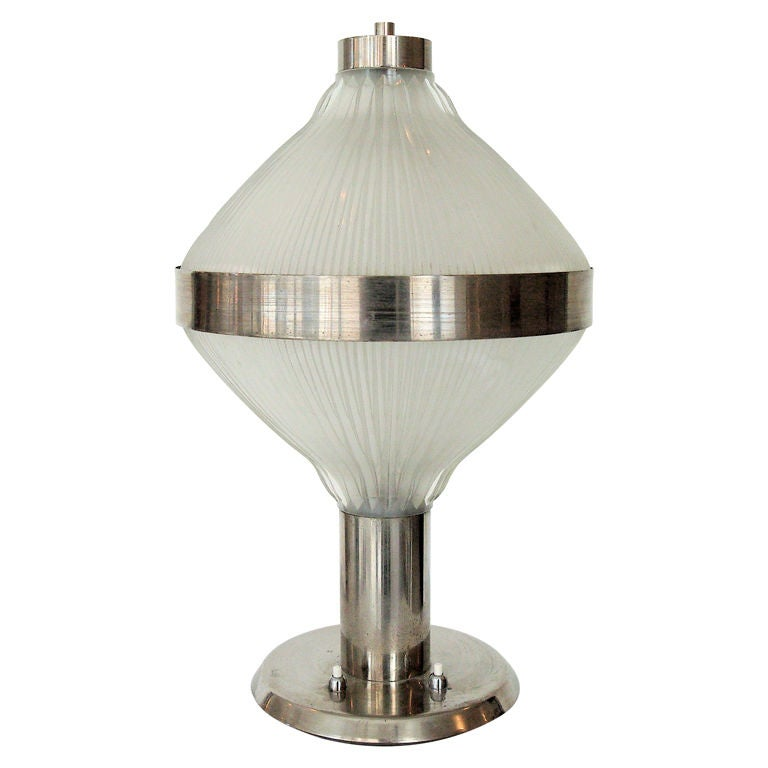 Italian Table Lamp Polinnia by the Architects BBPR for Artemide c 1964 B.B.P.R. For Sale