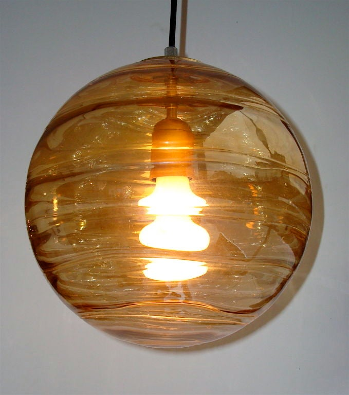 italian hand blown amber glass pendant lights is no longer available. Black Bedroom Furniture Sets. Home Design Ideas