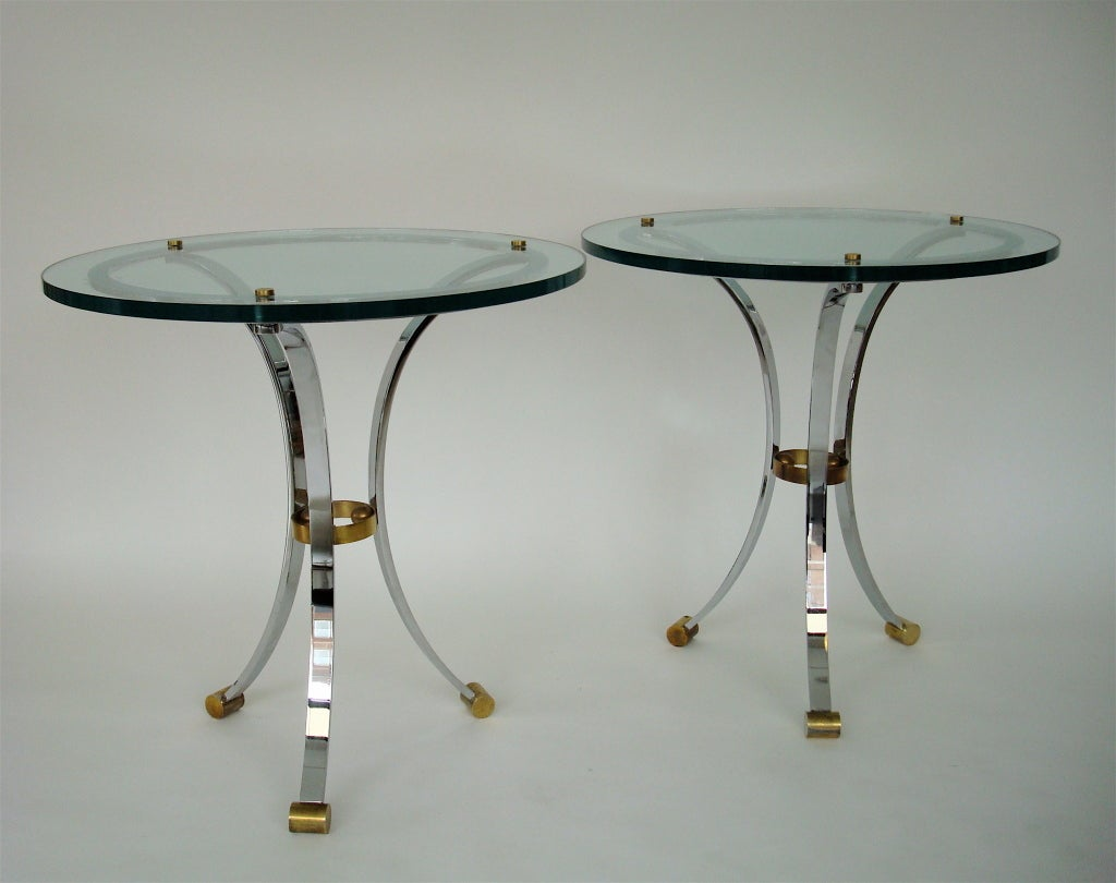 Pair of Side Tables by Maison Jansen 4