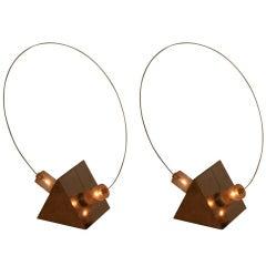 Italian Table Lamps by Arditi and Gianni Gamberini - Model B. T.