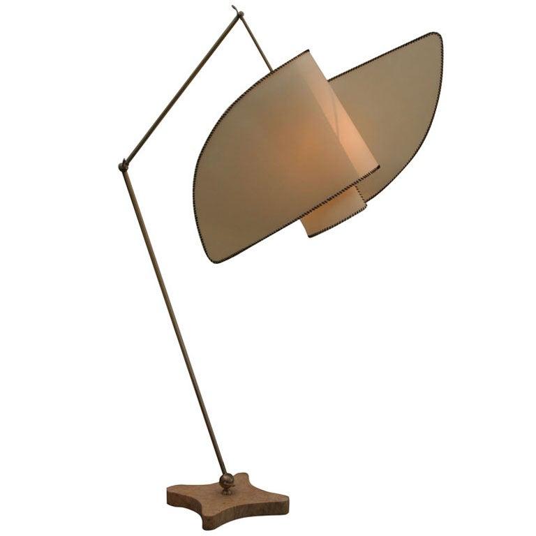 Suora Italian Floor Lamp After Carlo Mollino At 1stdibs