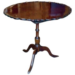 19th Century American or English Tea or Center Tilt-Top Table