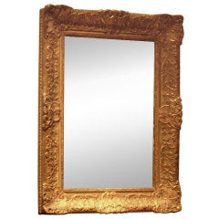 19th Century or Earlier Giltwood Mirror