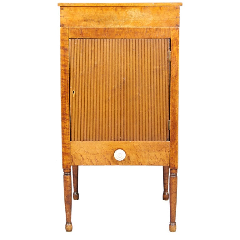 American bird 39 s eye maple cabinet at 1stdibs for Birds eye maple kitchen cabinets