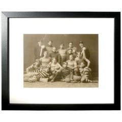 Collection of Vintage Sporting Photographs Including Yale Team