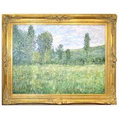 Impressionistic Landscape, Oil on Canvas Landscape, Martin Jewell