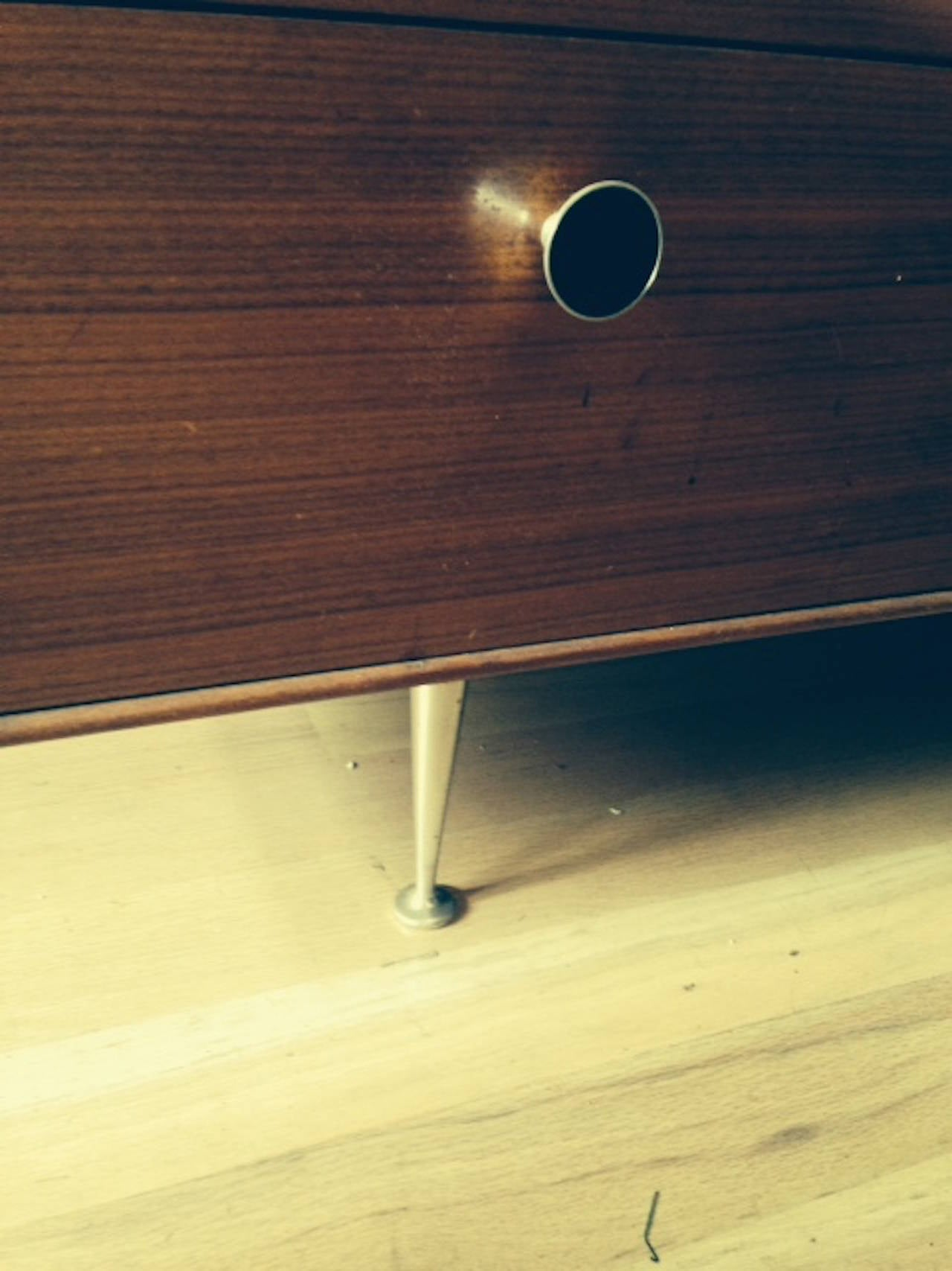 Mid-20th Century George Nelson Rosewood Server For Sale