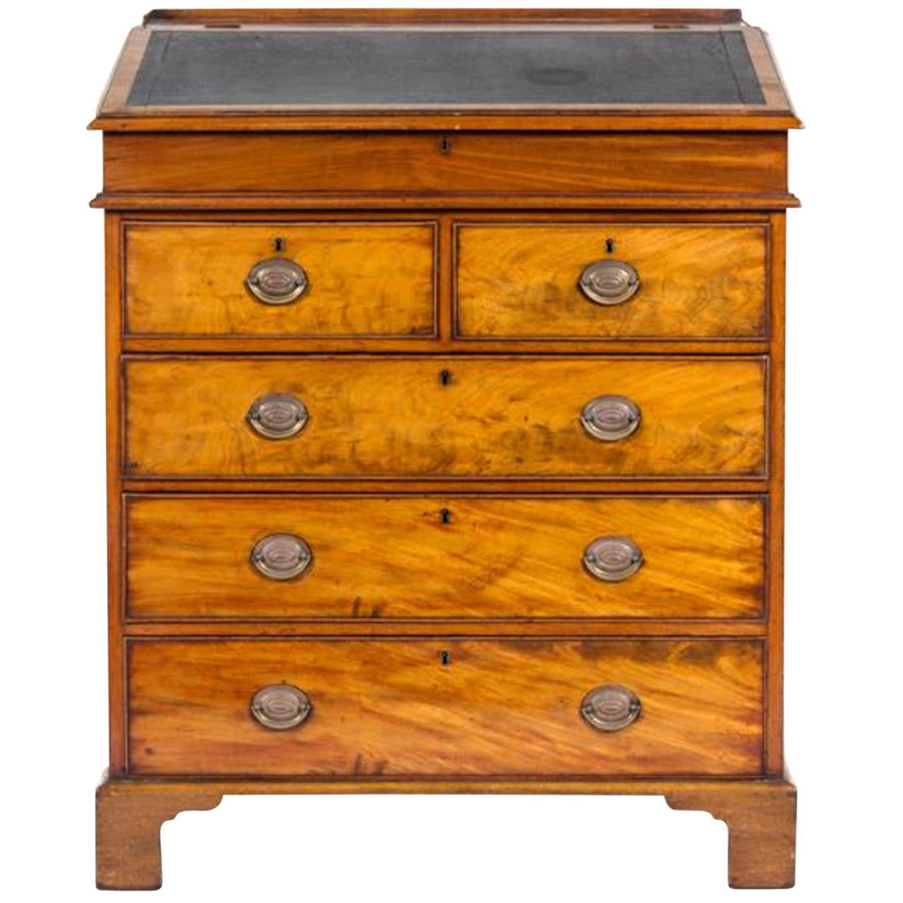 antique mahogany george iii bureau circa 1780 at 1stdibs. Black Bedroom Furniture Sets. Home Design Ideas