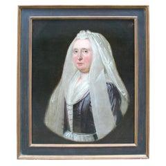 18th Century Dutch Portrait of Mrs. Victoria Walsh