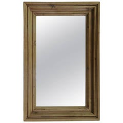 English Pine Frame Mirror