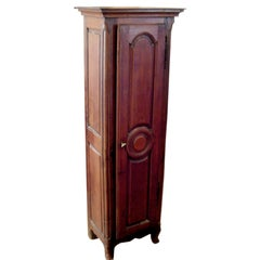 Charming Diminutive French Provincial Walnut Cabinet