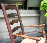 19th Century English Child's Rocking Chair In Excellent Condition For Sale In Buchanan, MI