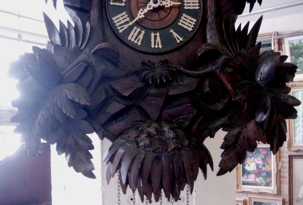 German 19th Century Black Forest Cuckoo Clock For Sale