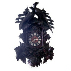19th Century Black Forest Cuckoo Clock