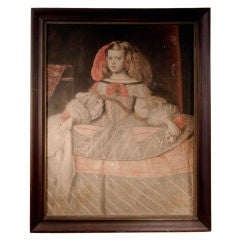Nineteenth Century Portrait Of Child