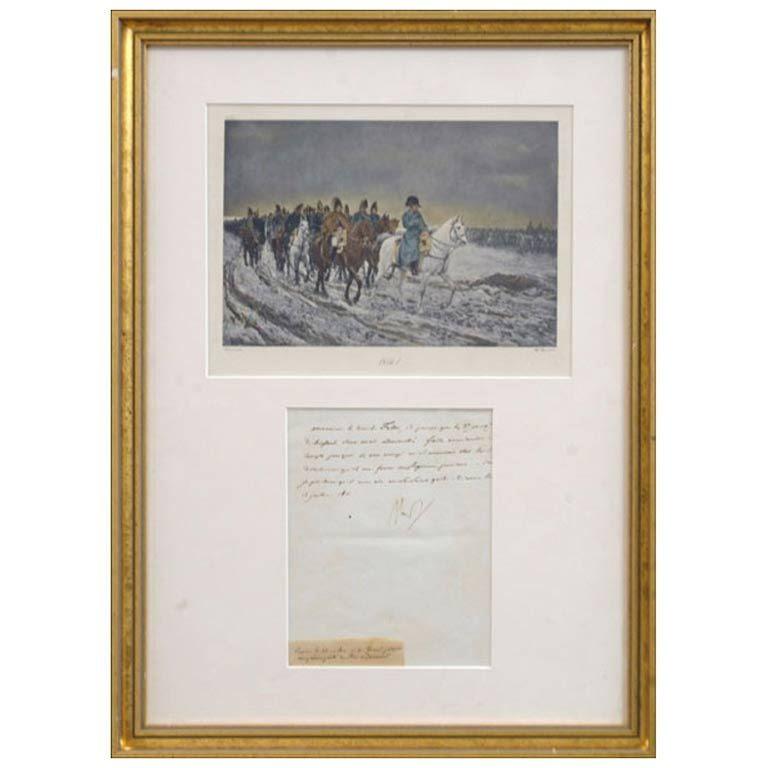 Letter From Napoleon To Josephine
