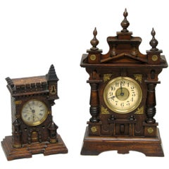 Two 19th Century Black Forest Clocks