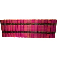 Set of 19th Century Leather Bound Books