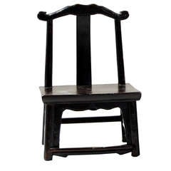 19th Century Chinese Children's Chair