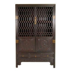 Chinese Book Cabinet
