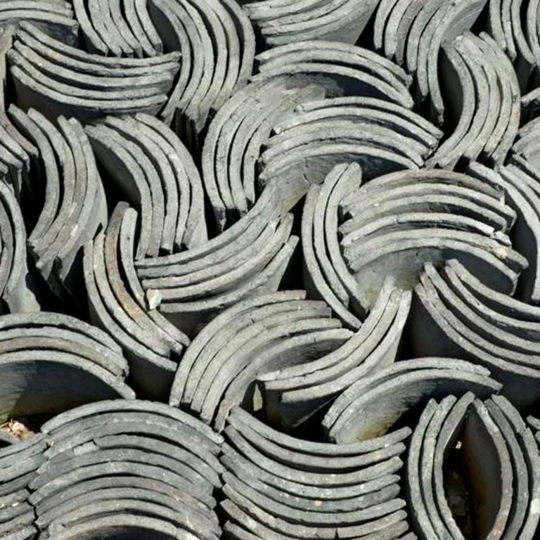 Vintage Chinese Roof Tiles For Sale At 1stdibs