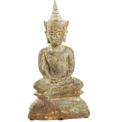 19th Century Thai Bronze Buddha