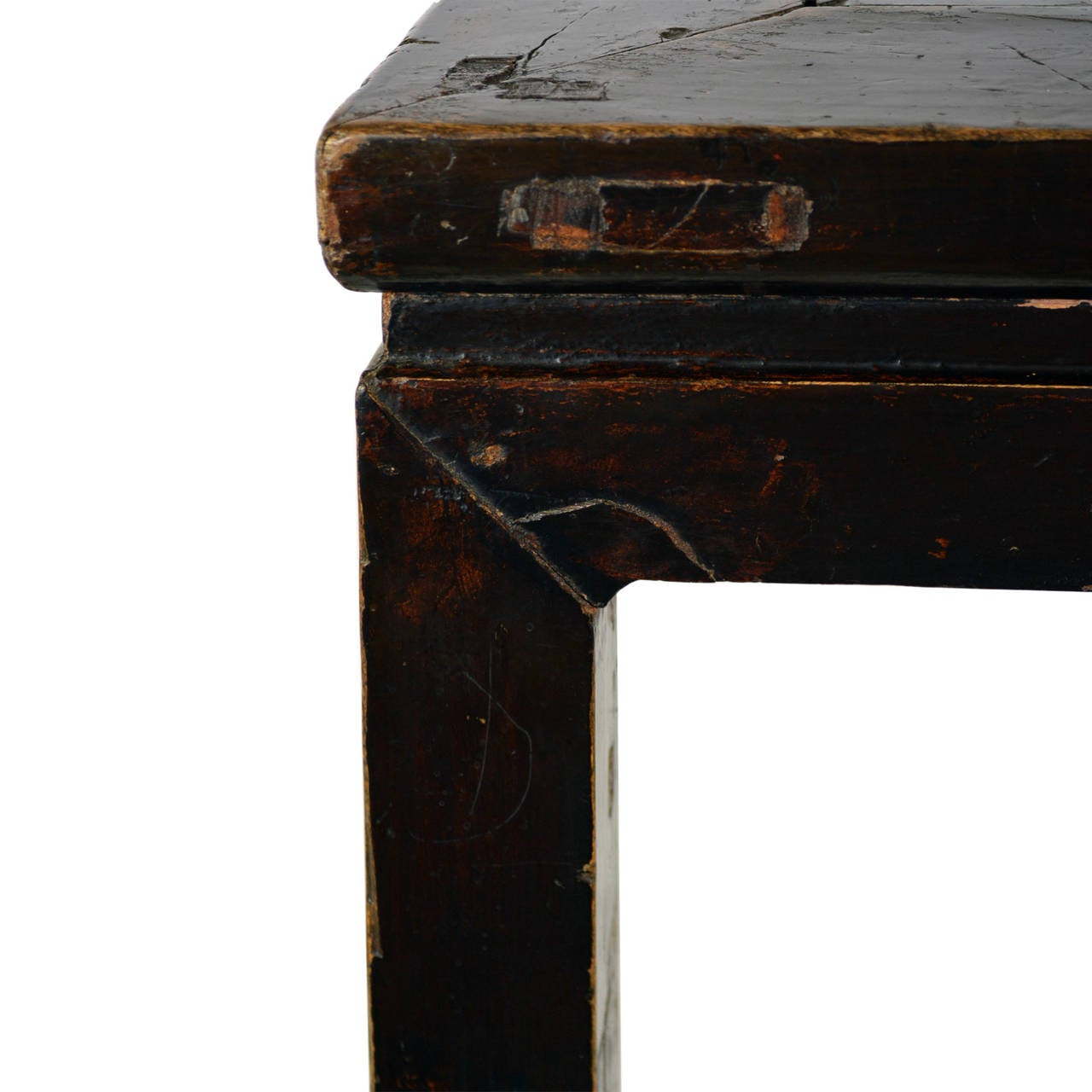 18th Century Chinese Black Lacquer Painting Table At 1stdibs