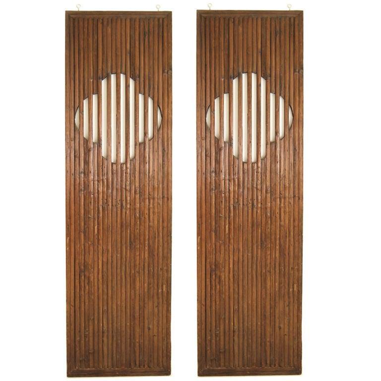 Pair Of 19th Century Quatrafoil Doors At 1stdibs