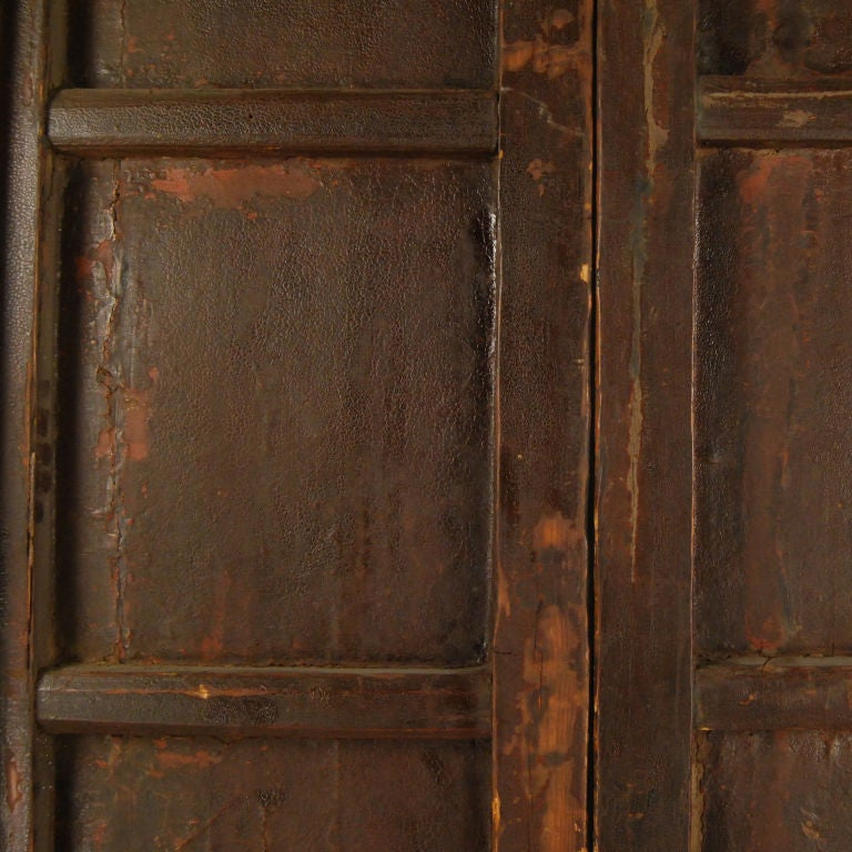 Pair of Black Lacquer Doors 3