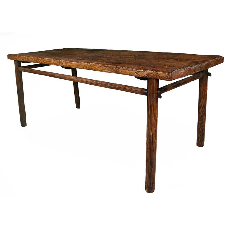 Oriental Dining Table: Provincial Chinese Dining Table At 1stdibs