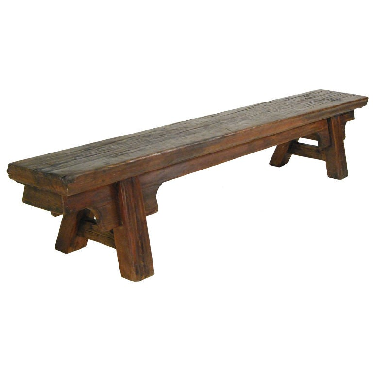 19th Century Provincial Chinese Bench For Sale At 1stdibs