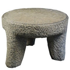 19th Century Chinese Limestone Table