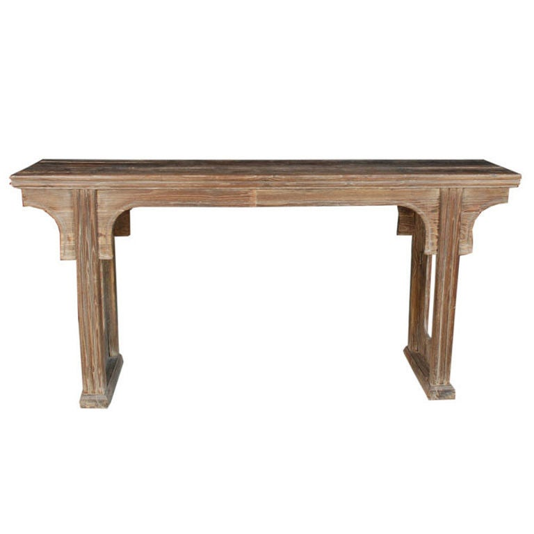 Th Century Chinese Cerused Altar Table At Stdibs