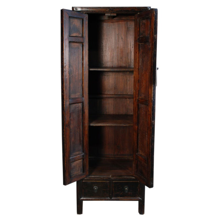 19th Century Chinese Tall And Narrow Cabinet At 1stdibs