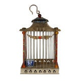 19th Century Chinese Cloisonné Bird Cage