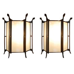 Pair of 19th Century Chinese Lanterns