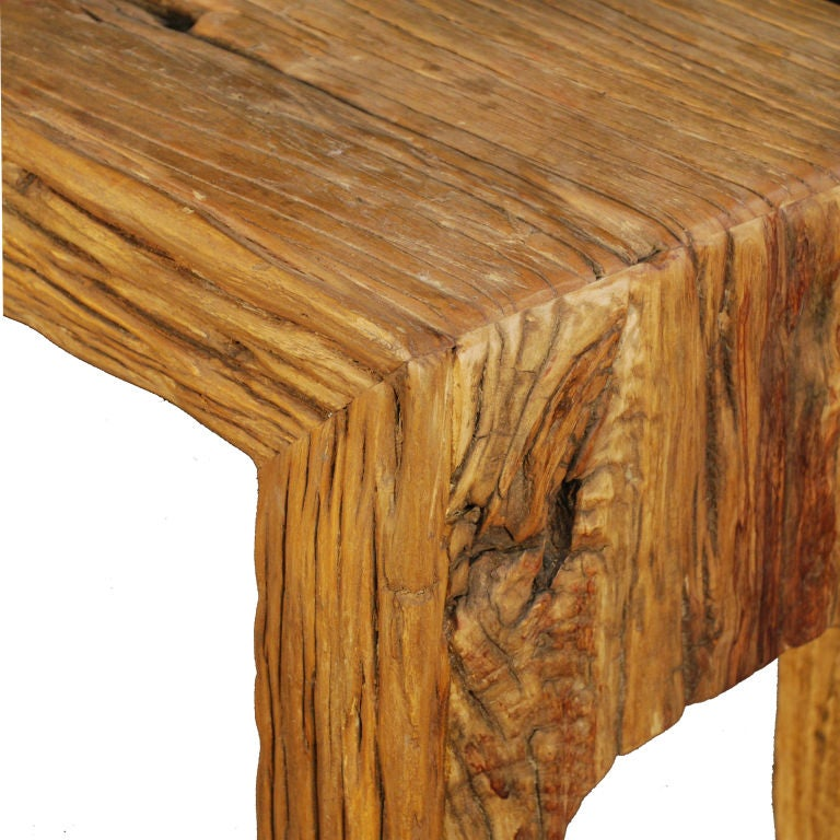 Chinese Reclaimed Elmwood Altar Table 3