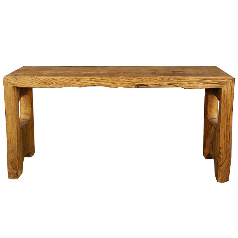 Chinese Reclaimed Elmwood Altar Table At Stdibs