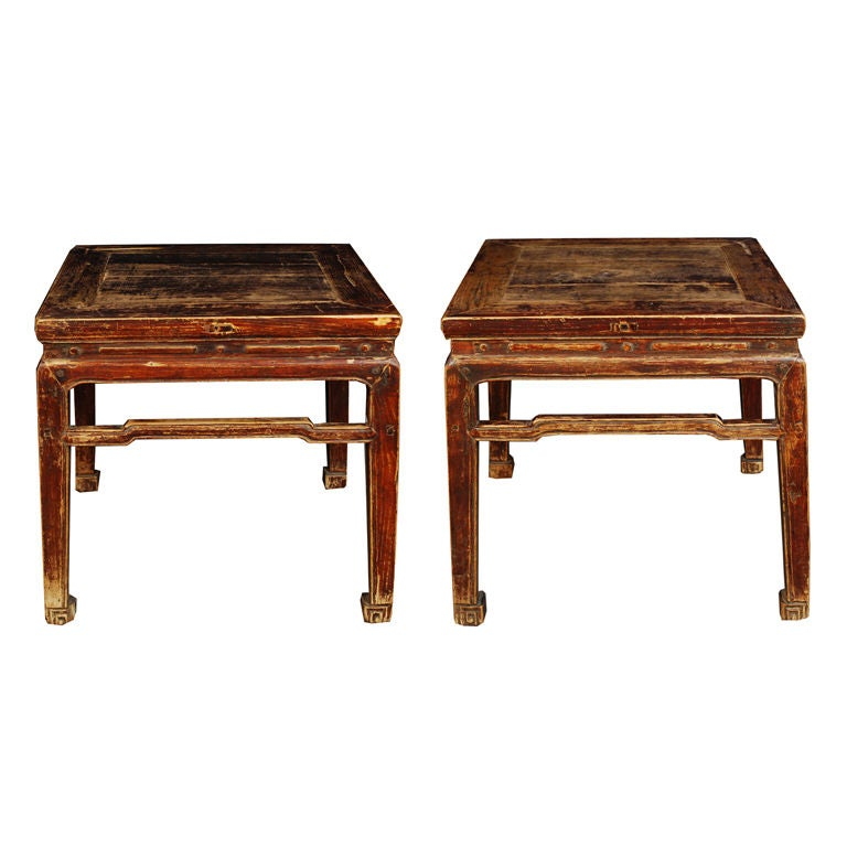 Pair Of 19th Century Chinese Feng Dengs At 1stdibs
