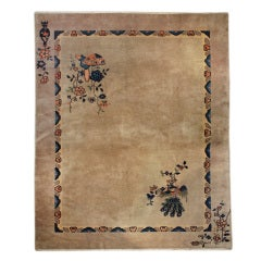 Chinese Transitional Peking/Deco Rug, 9' x 12'