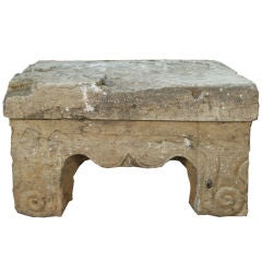 Ming Stone Altar Table