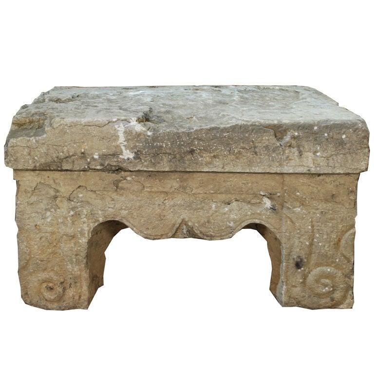 Ming Stone Altar Table at 1stdibs