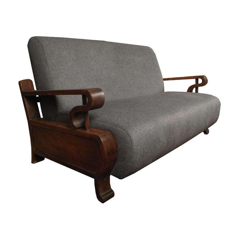 1930s Rosewood Chinese Deco Sofa at 1stdibs : threequarter300l from 1stdibs.com size 768 x 768 jpeg 31kB